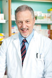 Pharmacist portrait Royalty Free Stock Images