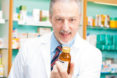 Pharmacist portrait Royalty Free Stock Image