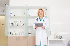 Pharmacist at work Stock Photos