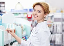 Pharmacisten Arkivfoto