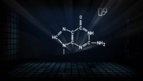 Pharmacology animated laser show