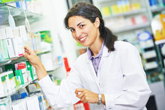 Pharmacutical chemist portrait Royalty Free Stock Photo