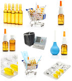 Pharmacy background Royalty Free Stock Photography