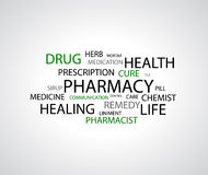 Pharmacy background Stock Photography