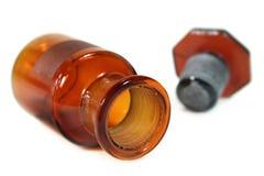 Pharmacy bottle Stock Photography