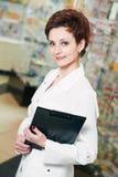 Pharmacy chemist woman in drugstore Royalty Free Stock Photo