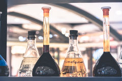 Pharmacy and chemistry theme Stock Photography