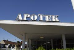 _pharmacy d'Apotek Image stock