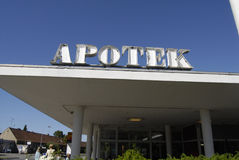 _pharmacy de Apotek Imagem de Stock