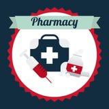 Pharmacy design Stock Photos