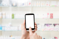 Pharmacy drugstore background concept. Royalty Free Stock Images