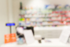 Pharmacy or drugstore room background Royalty Free Stock Image
