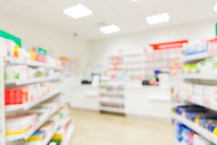 Pharmacy or drugstore room background Stock Photos
