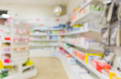 Pharmacy or drugstore room background Royalty Free Stock Photos