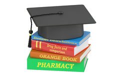 Pharmacy Education concept, 3D rendering Royalty Free Stock Images