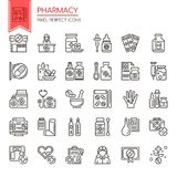 Pharmacy Elements Royalty Free Stock Images