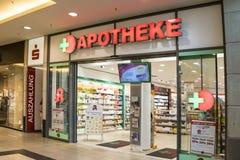 Pharmacy Entrance Royalty Free Stock Image