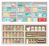 Pharmacy and herbalist's shop Stock Photography