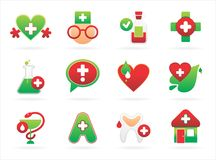 Pharmacy icon Stock Photography