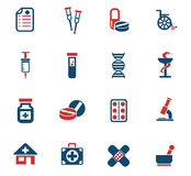 Pharmacy icon set. Pharmacy web icons for user interface design Stock Photo