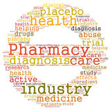 Pharmacy industry Royalty Free Stock Photography