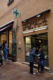 PHARMACY IN ITALY Royalty Free Stock Image