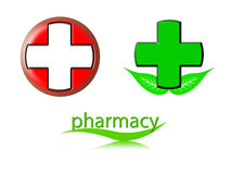 Pharmacy logo Stock Photos