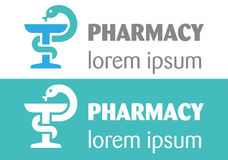 Pharmacy Logo Royalty Free Stock Images