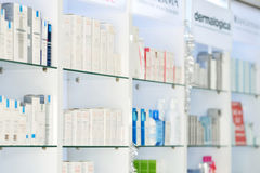 Pharmacy. OTC products in turkey pharmacy Stock Image