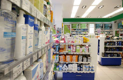 Free Pharmacy Shop Royalty Free Stock Image - 18989276