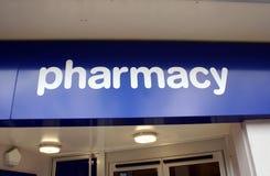 Pharmacy sign Royalty Free Stock Photos
