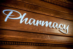 Pharmacy sign Royalty Free Stock Photo