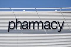 Pharmacy signage Royalty Free Stock Images