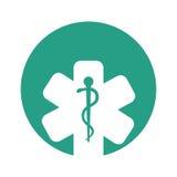 Pharmacy symbol isolated icon Stock Image