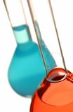 Pharmacy test tubes Royalty Free Stock Images