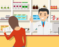 Pharmacy stock illustration