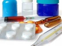Pharmazeutische Produkte stockfoto