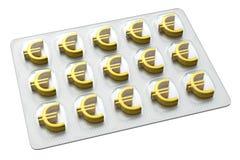 Pharmazeutisches Geschäft - Euro Stockfotografie