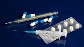 Pharmazeutisches Set Lizenzfreie Stockfotos