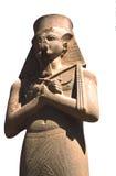 Pharoah de Ramses aislado imagen de archivo