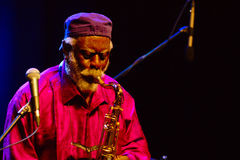Pharoah Sanders, JazzLent 2017, Maribor Royalty Free Stock Images