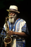 Pharoah Sanders Quartet 88 Royalty Free Stock Photo