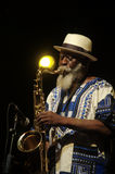 Pharoah Sanders's Quartet 8 Royalty Free Stock Photography