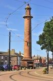 Pharos或上面的灯塔,弗利特伍德Lancashire 免版税图库摄影