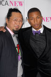 Pharrell, Pharrell Williams, Takashi Murakami stockfotos