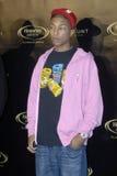 Pharrell Williams auf dem roten Teppich. Lizenzfreie Stockfotos