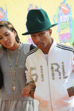 Pharrell Williams & Helen Lasichanh Stock Photography
