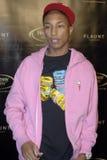 Pharrell Williams no tapete vermelho. Imagem de Stock Royalty Free
