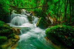 Phasawan瀑布 库存图片