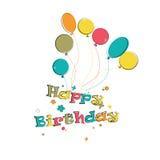 Phase happy birthday Royalty Free Stock Image